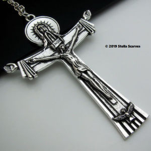 Stella Scarves Accessories - Christ The Redeemer Scarf Pendant